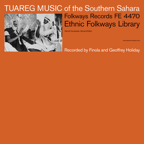 Various Artists-Tuareg Music Of The Southern Sahara (LP)