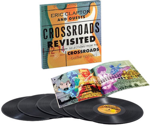 Eric Clapton-Crossroads Revisited:Selections from Guitar Festivals (6XLP Box Set)