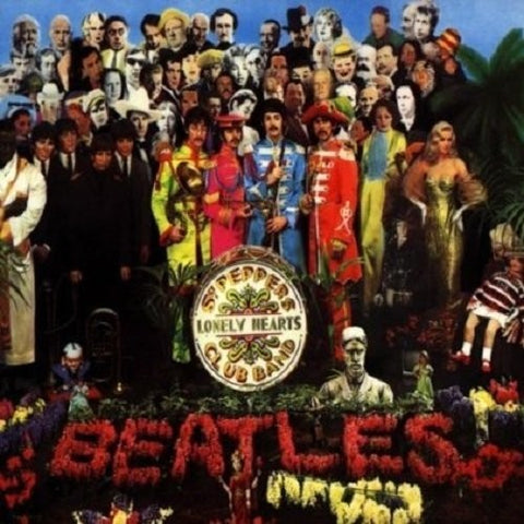 The Beatles-Sgt Pepper's Lonely Hearts Club Band (LP)
