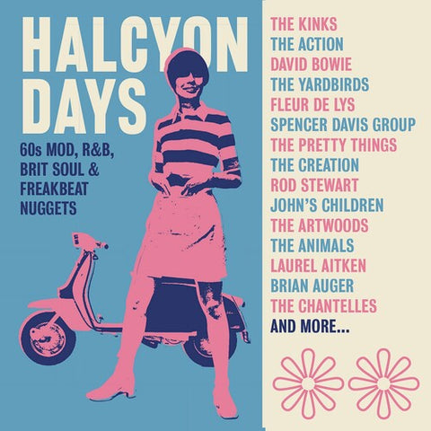 Various Artists-Halcyon Days: 60s Mod, R&B, Brit Soul & Freakbeat Nuggets (CD)