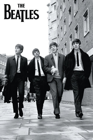 The Beatles London St. Poster
