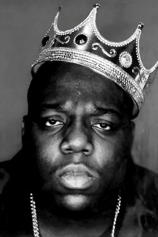 Poster-Notorious BIG Crown