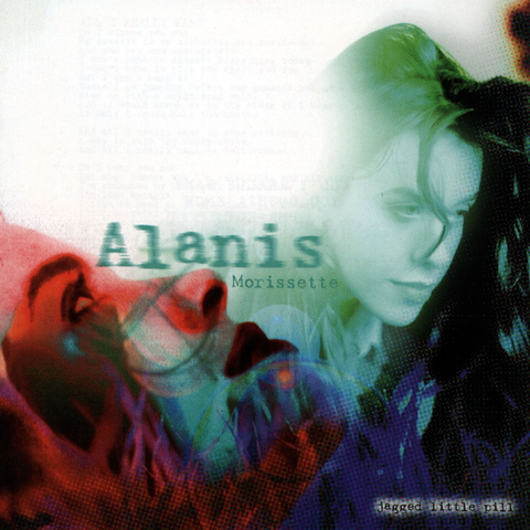 Alanis Morissette-Jagged Little Pill (LP) - Cameron Records