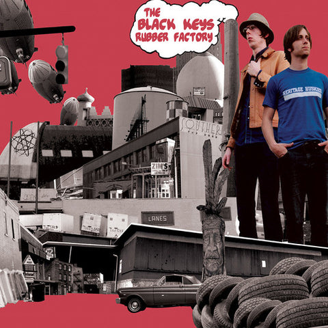 Black Keys-Rubber Factory (LP)
