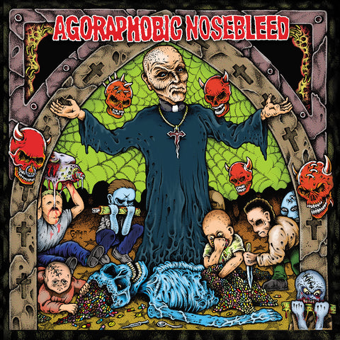 Agoraphobic Nosebleed-Altered States Of America / ANBRX II Delta (LP) - Cameron Records