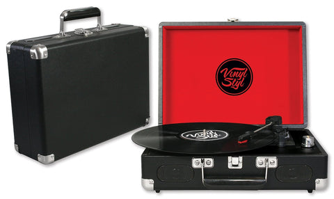 Vinyl Styl™ Groove Portable 3 Speed Turntable