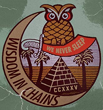 "Wisdom In Chains-We Never Sleep EP (7"")"
