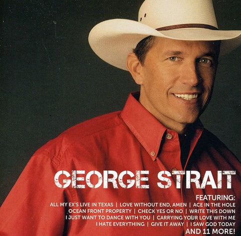 George Strait-Icon (CD) - Cameron Records
