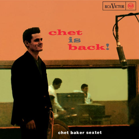 Chet Baker Sextet-Chet is Back! (LP) - Cameron Records
