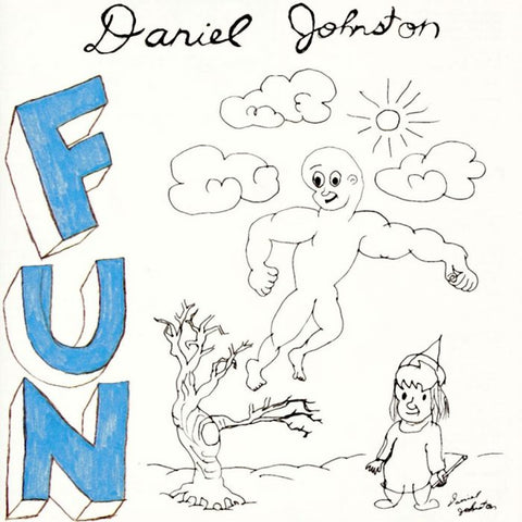 Daniel Johnston-Fun (LP) - Cameron Records
