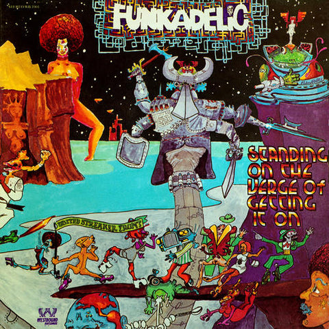Funkadelic-Standing On the Verge of Getting It On (LP) - Cameron Records