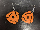 45 RPM Adapter Earrings - Cameron Records