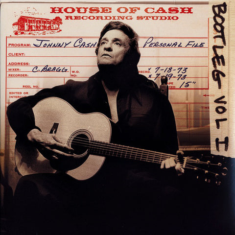 Johnny Cash-Bootleg 1: Personal File (3xLP)