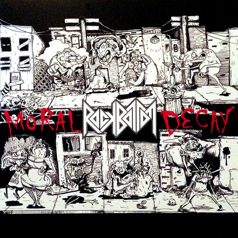 "Rock Bottom-Moral Decay EP (7"")"