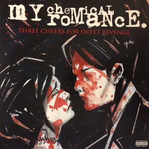 My Chemical Romance‎–Three Cheers For Sweet Revenge (LP)