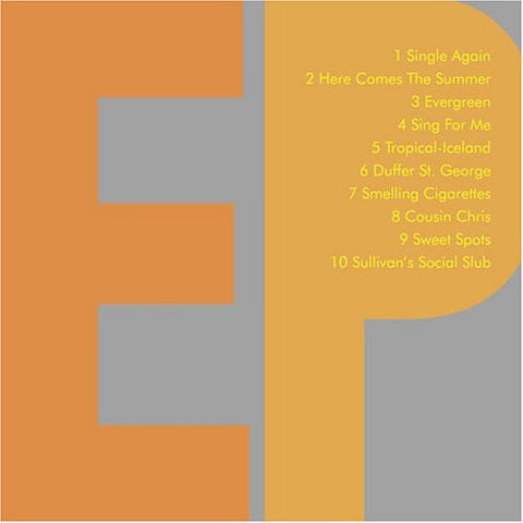 The Fiery Furnaces-EP (CD)