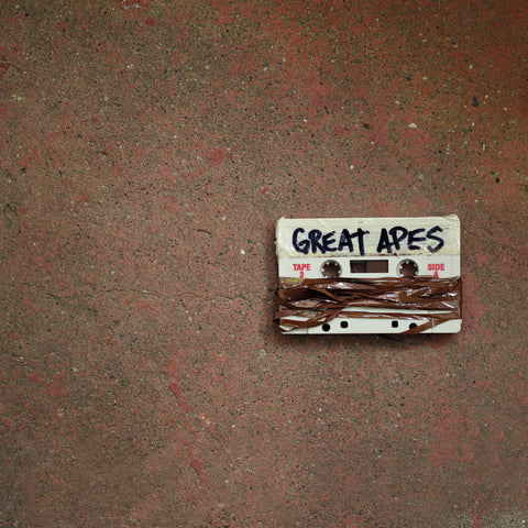 Great Apes-Grey Tapes (LP) - Cameron Records