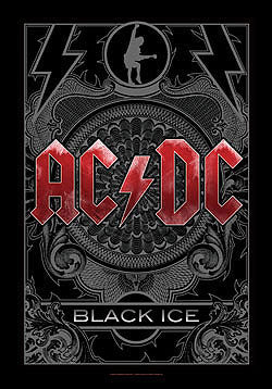 AC/DC-Black Ice Flag