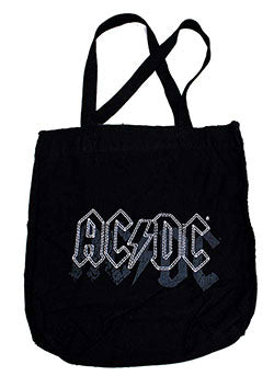 AC/DC-Stitched Logo Tote Bag - Cameron Records