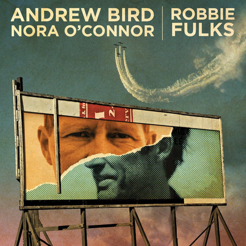 "Andrew Bird/Robbie Fulks-split (7"") - Cameron Records"