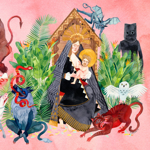 Father John Misty-I Love You, Honeybear (2XLP) - Cameron Records
