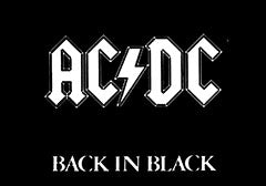 AC/DC-Back In Black Magnet