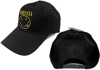 Nirvana Smiley Logo Cap
