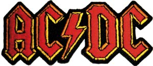 AC/DC-Red and Yellow Patch - Cameron Records