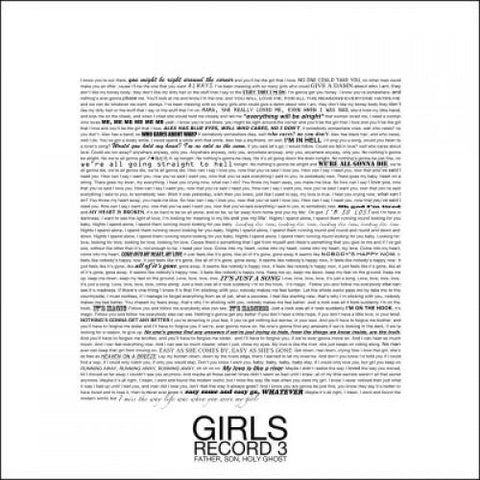 Girls-Father, Son, Holy Ghost - Cameron Records