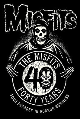 Misfits 40th Anniversary Sticker