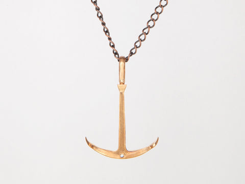 Anchor Necklace (flat)