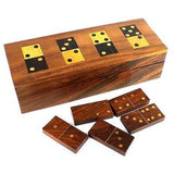 Handmade Wooden Domino Set Handmade and Fair Trade
