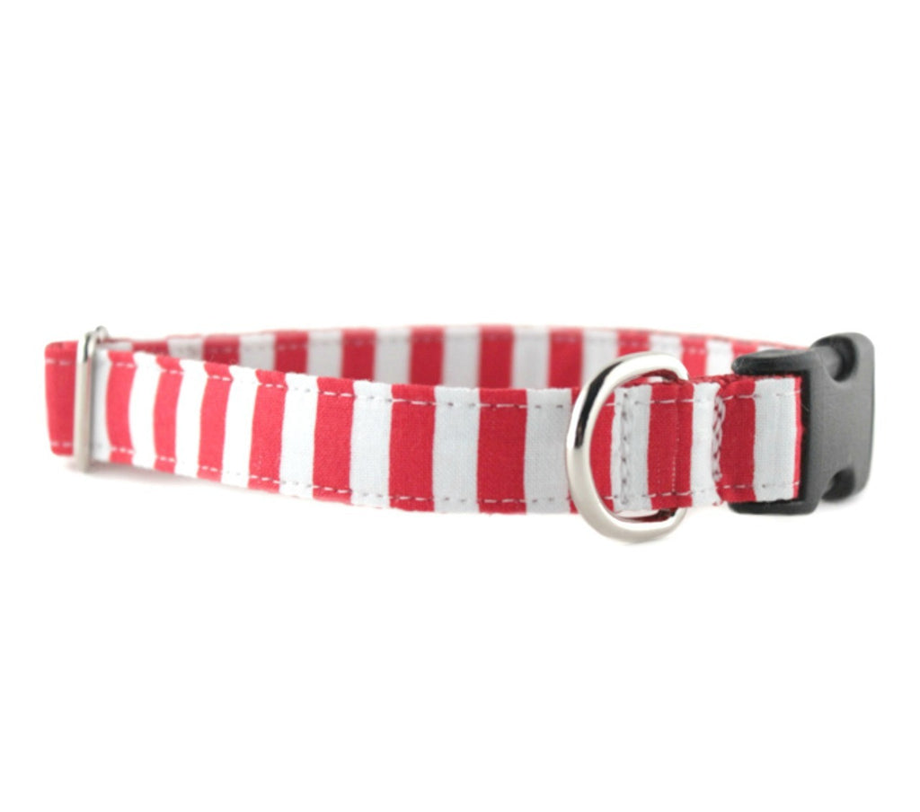 Candy Cane Stripe Dog Leash