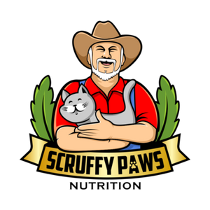 scruffy paws nutrition logo footer