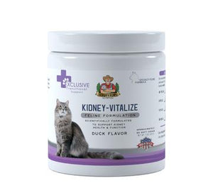 Scruffy Paws Kidney-Vitalize Chews Scruffy Paws Nutrition 3oz jar - 70 Chews approx (3 month supply) Duck (NEW FLAVOUR)