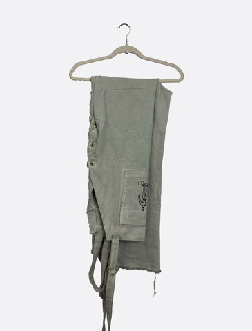 Patched Overalls
