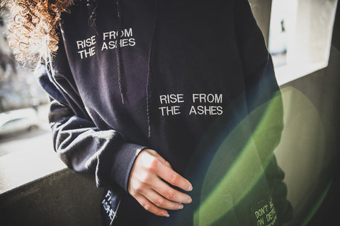 Rise from the Ashes Hoodie - UNISEX