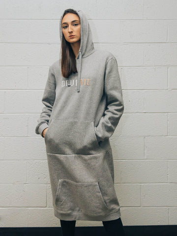 Gray Sweatshirt Tunic - UNISEX
