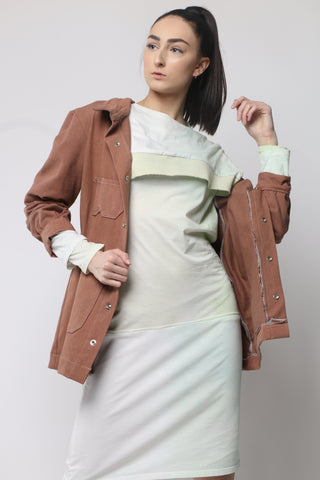 Chocolate Spring Duster Jacket