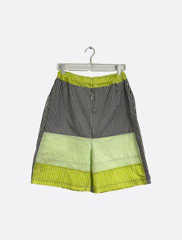 Color Block Skater Shorts