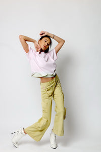 Hand-Dyed Bell Bottom Pant