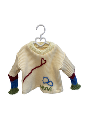 Heart on a String Knitted Outfit
