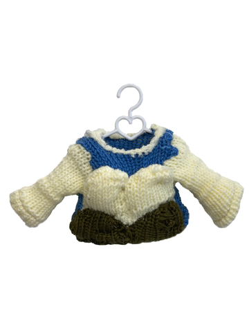 Hand-Knitted Hat Sweater/Short Outfit