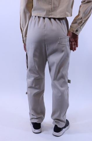 Reflection Patch Cargo Pant