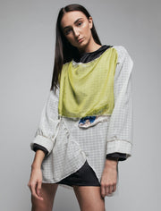 Chiffon Open Wound Blouse