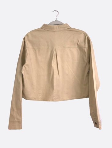 Canvas Crop Jacket