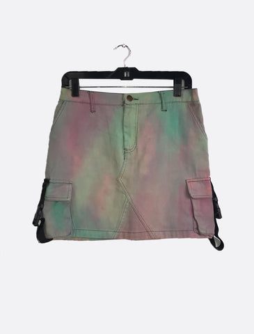 Vintage Dyed Buckle Skirt