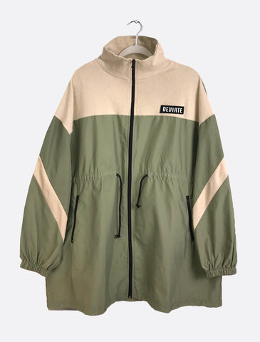 Olive and Beige Spring Windbreaker UNISEX