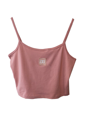 Pink Tank Top with Spaghetti Straps