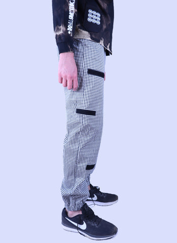 R & R Checkered, Pocketed Pant
